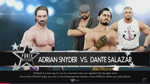 FORCE Match Night 16: Adrian Snyder vs. Dante Salazar - YouTube