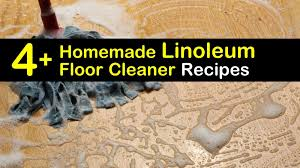 easy to make linoleum floor cleaner recipes