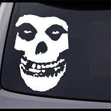 Jcm Custom 3 Pack Misfits Fiend Skull Permanent Vinyl Decal Sticker Ebay
