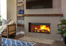 granite fireplace surrounds with wood