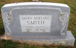 Mary Adeline Smith (1881-1958) - Find A Grave Memorial