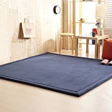 Blue Area Rugs For Living Room Kitchen Rugs Tatami Carpet Runners Play Mats Cheap Area Rugs Contemporary Rugs Kids Rugs Throw Rugs Large Area Rugs 80cm X 200cm 31 5 X 78 7