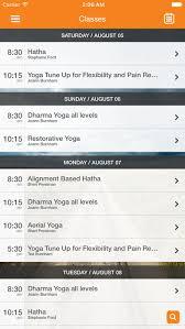 app per dharma yoga nantucket
