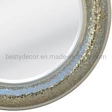 china miroir decoratif teck 80 x 80 cm