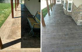 transform dull concrete into a gorgeous