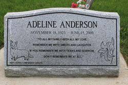 Adeline Anderson (1923-2009) - Find A Grave Memorial