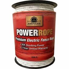 American Farmworks Electric Fence Powerrope 656 Ft Hdr656wa Afw At Tractor Supply Co