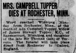 Obituary for CAMPBELL TUPPER - Newspapers.com