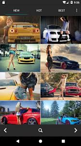 Sexy Car Girls Wallpapers Hd 4k سيارة سوبر موديل For Android