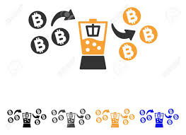 Bitcoin Mixer Icon. Vector Illustration Style Is Flat Iconic.. Royalty Free  Cliparts, Vectors, And Stock Illustration. Image 84520276.