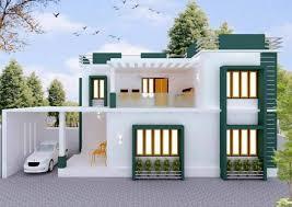 3bhk modern house plan ideas india