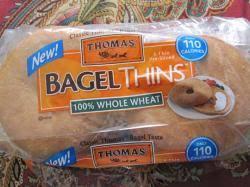 taste test thomas bagel thins