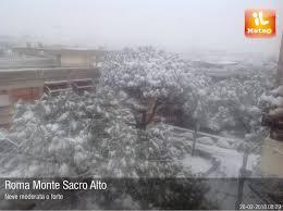 Foto meteo - Roma Monte Sacro Alto - Roma Monte Sacro Alto ore 8:29 »  ILMETEO.it