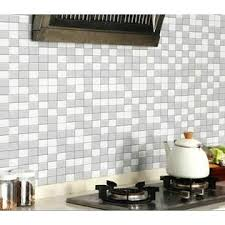 Yenhome Mosaic Wall Sticker Self Adhesive Pvc Vinyl Home Decoration Backsplash Decal New