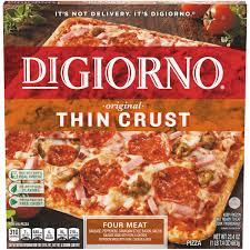 digiorno original thin crust four meat