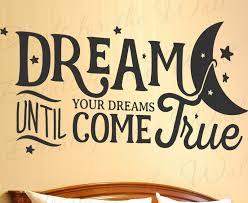 Dream Until Your Dreams Come True Aerosmith Wall Art Vinyl Decal Sticker Q85 Vinyl Art Stickers Vinyl Wall Art Aerosmith