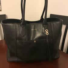 cole haan bags black tote bag poshmark