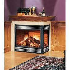 fireplace corner gas fireplace