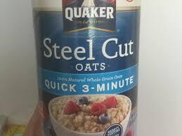 steel cut oats dry nutrition facts