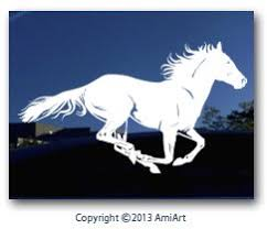 Amiart Horse Decal Right Extra X Lar Buy Online In Albania At Desertcart