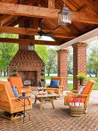 outdoor fireplace ideas backyard