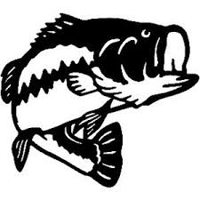 Largemouth Bass Decal St2010a Fishing Boat Truck Window Sticker Wildlife Decal