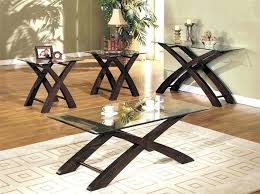 table designs with glass top wooden