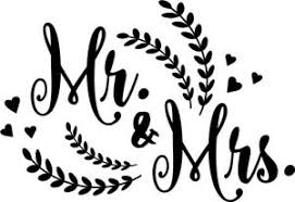 Mr And Mrs Vinyl Decal Sticker Pinterest Words Lettering Ebay