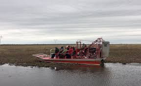 air boats and fan boats guide boat