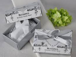 blessings scented cross soap favors