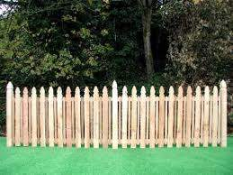 Mckenzie 42 X 8 Cedar Picket Fence Panel At Menards Picket Fence Panels Wood Fence Fence Panels