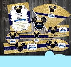 Kit Imprimible Cumpleanos Mickey Mouse Rey Principe 1 000 En