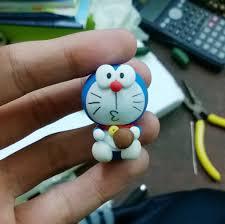 Doraemon cute with Dorayaki clay by me by Booshandmadeshop on ...