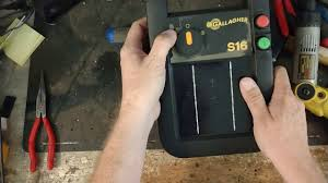 Best Solar Electric Fence Charger Gallagher S10 S16 S20 Solar Repair Youtube