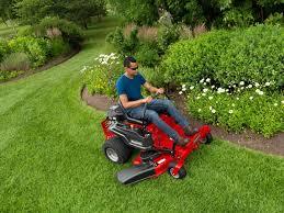 zero turn riding lawn mowers snapper
