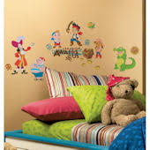 Pirate Wall Stickers For Boys Pirate Decals Wall Murals