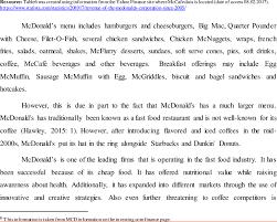 mcdonald s mccafe revenue over the
