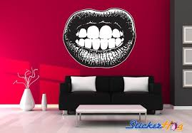 Rocky Horror Lips Wall Decal