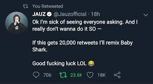 Baby Shark Jauz Remix coming in hot : Monstercat