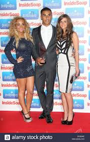 Chelsee Healey, Lucien Laviscount and Rebecca Ryan The 2011 Inside Stock  Photo - Alamy