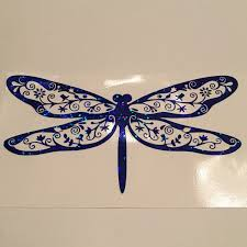 Abbysclosettx Shared A New Photo On Etsy Car Decals Vinyl Glitter Car Decals Dragonfly
