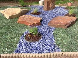 recycled glass landscaping paulele