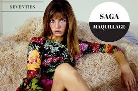 saga maquillage les années 70