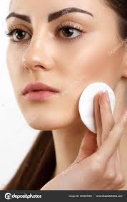 natural makeup skin care woman