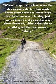 cycling quotes to inspire your bike touring adventures