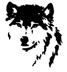 Die Cut Vinyl Decal Wolf Head Wildlife Wilderness 20 Colors Car Truck Atv 57 Ushirika Coop