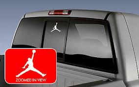 Michael Jordan Air Basketball Logo Symbol Car Vinyl Window Decal Sticker Wall Ebay