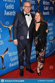 Adam McKay & Shira Piven editorial stock image. Image of ...