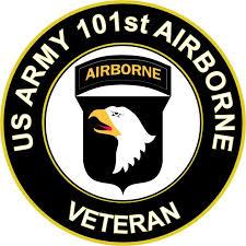 U S Army Veteran 101st Airborne Division Sticker Decal