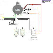 reversing electric motor wiring diagram